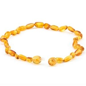 Baltic Amber Necklace Natural Teething Pain Relief